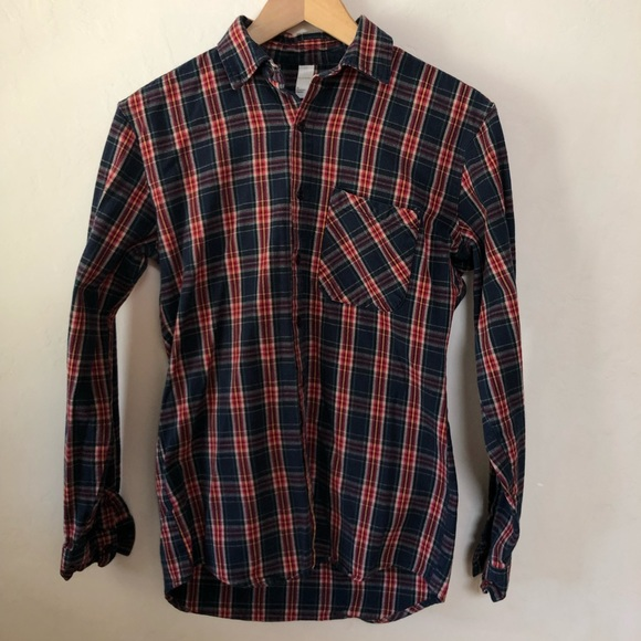 American Apparel Other - American Apparel Men's Button Up Flannel Shirt